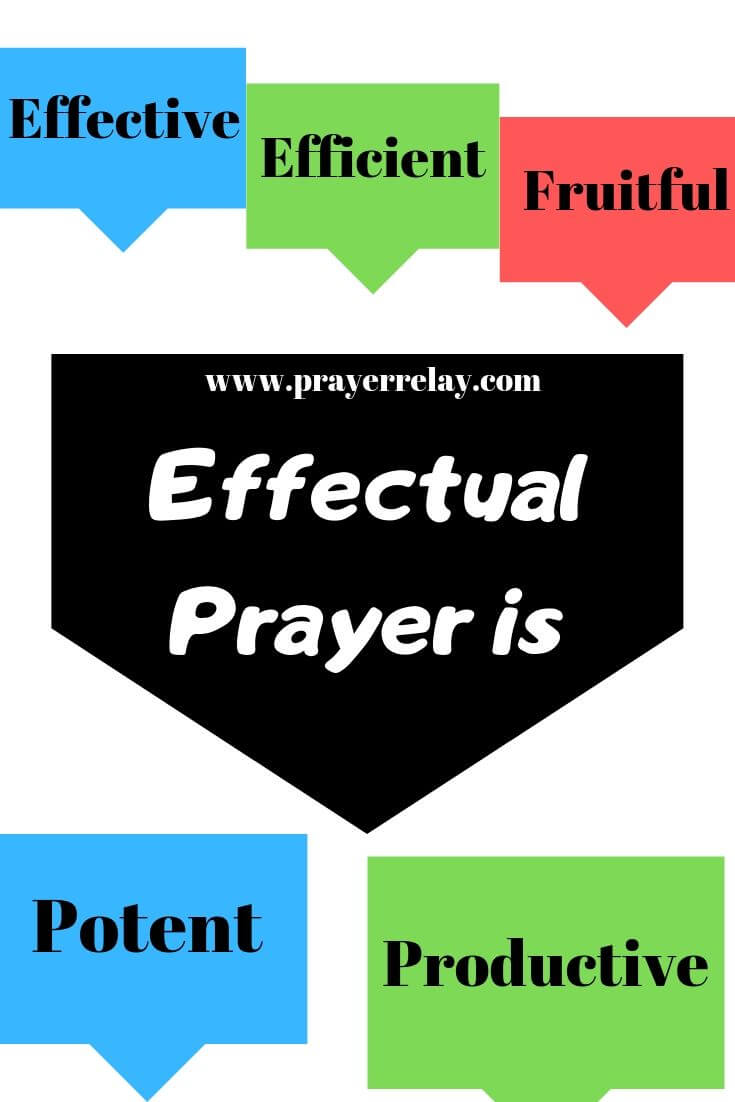 Effectual Prayer is