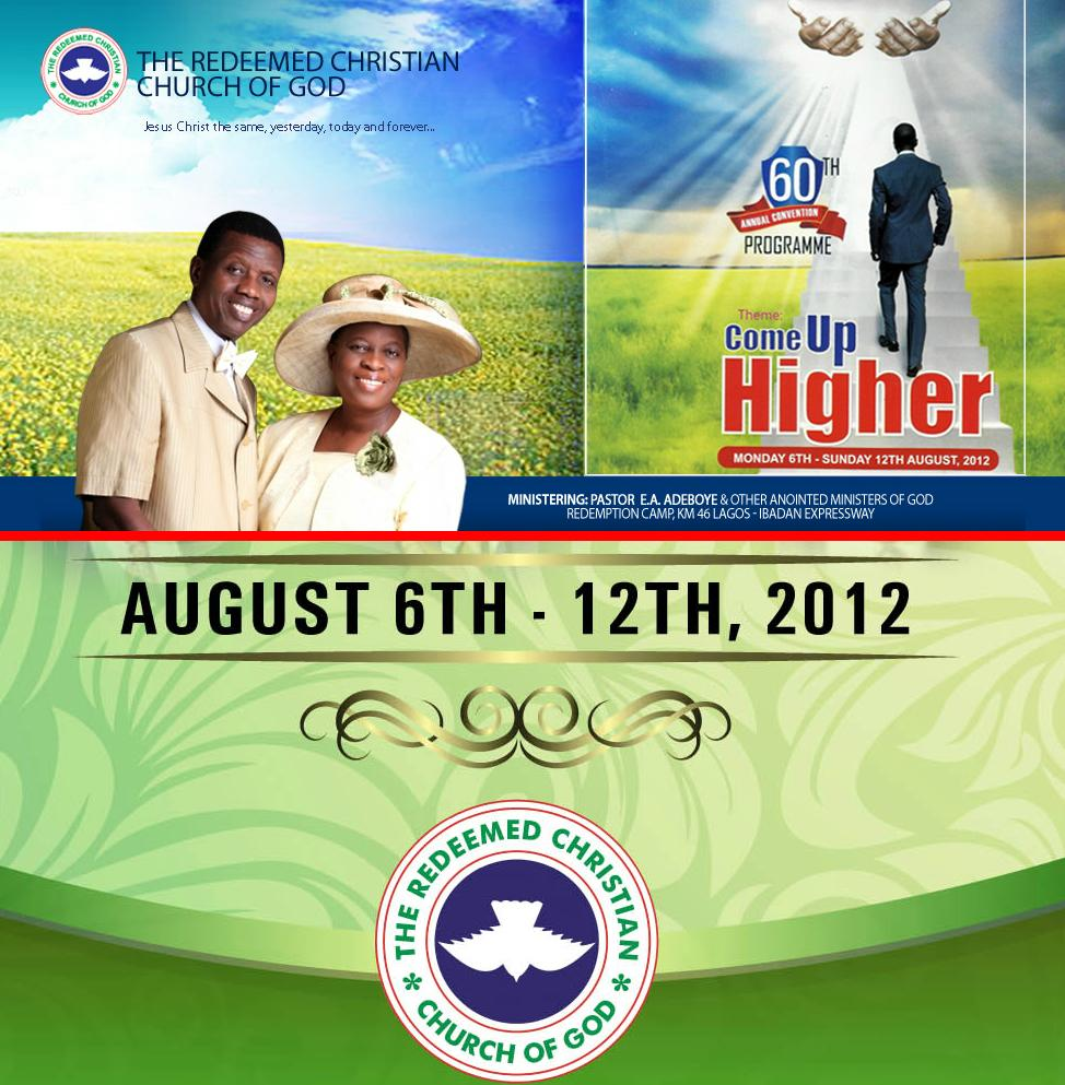 Prayer Points from Day 4 of RCCG 60th Convention by PASTOR
