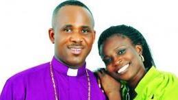 Bishop Isaac Idahosa and wife