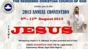 rccg 61st annual convention 2013
