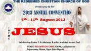 rccg 61st annual convention 2013