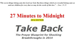 Elisha Goodman 2014 Prayers