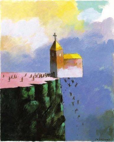 The LOST Church, The Church of PRECIPICE