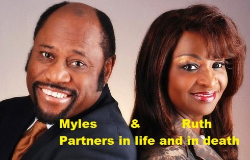 Dr. Myles Munroe and wife Ruth Munroe - Partners in life and in death