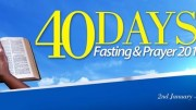 40 DAYS PRAYER AND FASTING - RCCG CITY OF DAVID
