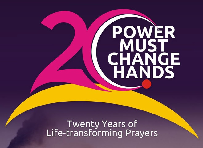 """JULY 2015 Power Must Change Hands (PMCH), """"40 PRAYERS – THE VIOLENT"""