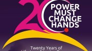 20 years of Power Must Change Hands