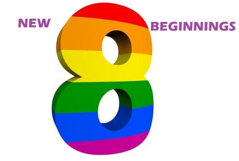 Number 8 - New Beginnings