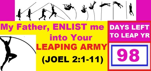 LEAP YEAR 2016 Timeline Prayers - LORD, ENLIST ME INTO YOUR LEAPING ARMY
