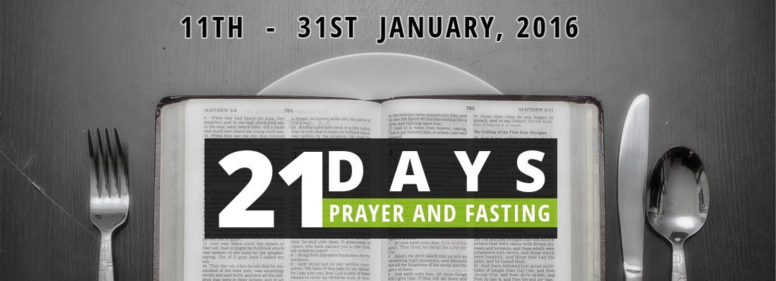 21-Day Prayer and Fasting - Winners Chapel