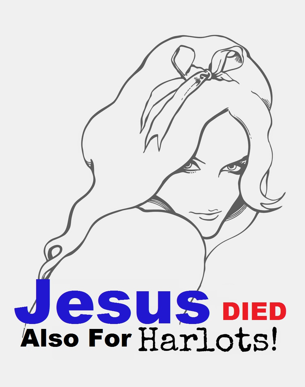 Jesus Died also for Prostitutes