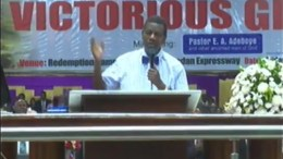 May 2016 RCCG Holy Ghost Service - Pastor E.A. Adeboye Ministering