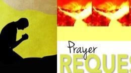 Prayer Request ...