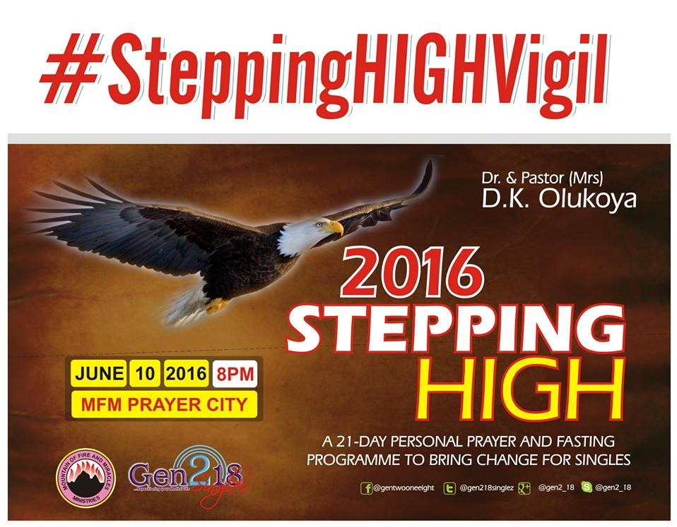 #SteppingHigh2016 Gen218 MFM Singles Vigil