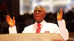 Bishop Oyedepo spits fire!