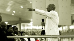 Bishop David Oyedepo unctionized