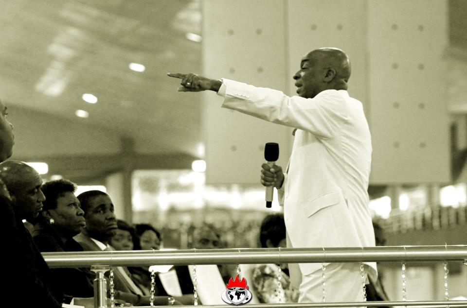 Bishop David Oyedepo unctionized