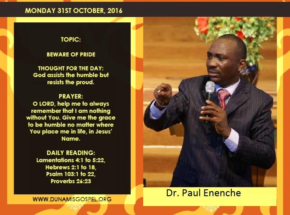 DR. PAUL ENENCHE