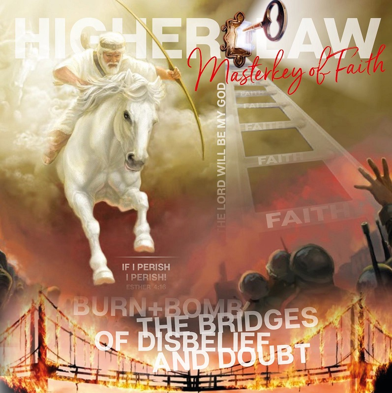 THE MASTERKEY OF DRUNKEN FAITH - BURN THE BRIDGE OF UNBELIEF AND DOUBTS