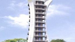 Jacob Tower in bhula, Charfashion, Bangladesh