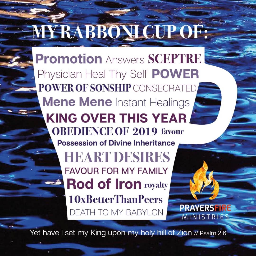 DAY 1 RABBONI DELIVERANCE WEEK (RDW) – PRAYER FOR CONSECRATING