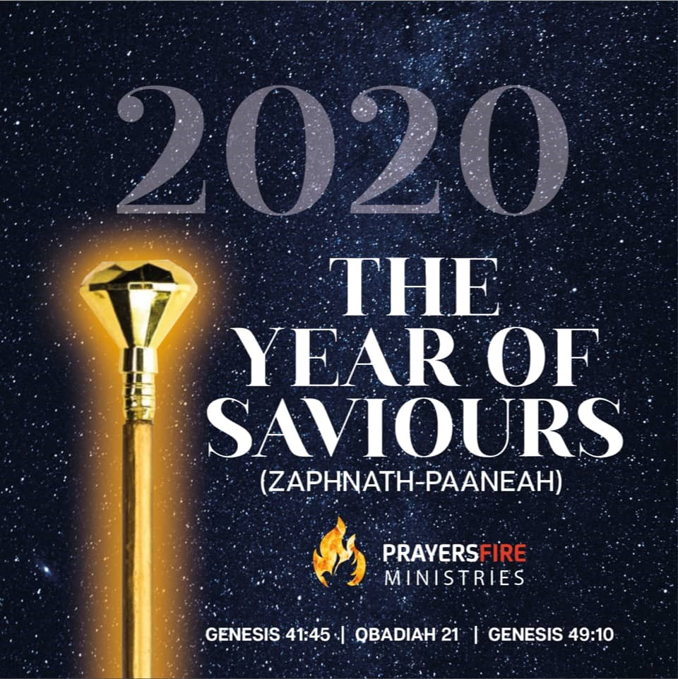 2020- THE YEAR OF SAVIOURS