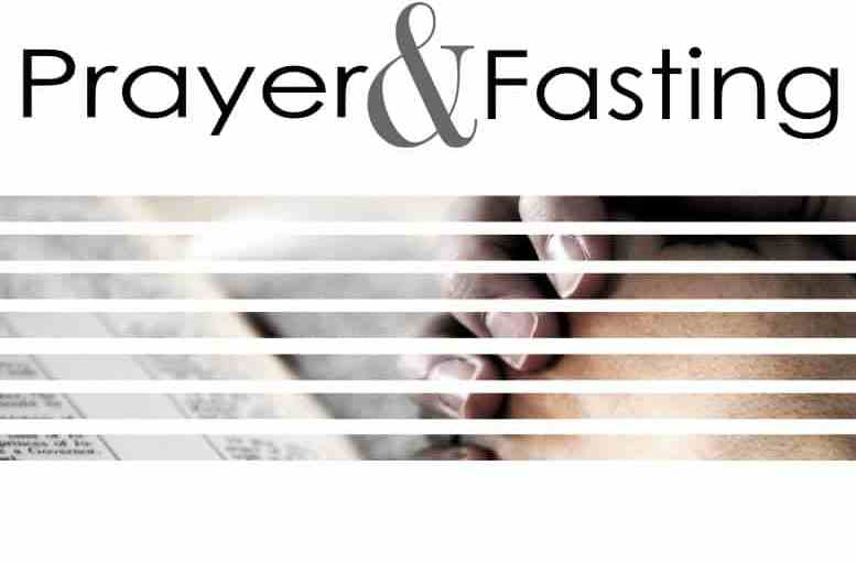 2016 40 Days of Fasting and Praying
