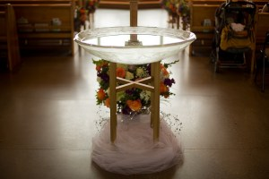 "Copyright Caitlin Burke ""Baptismal Font"" https://goo.gl/8ALqnl http://creativecommons.org/licenses/by/4.0/"