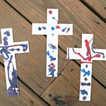 Create a Sand Cross with Experience God