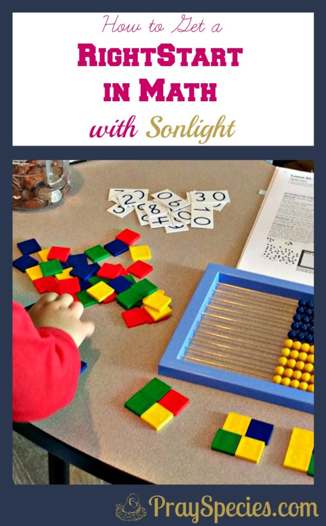 RightStart Math is a great way to up your game with elementary math in your homeschool. My kids really enjoy getting to use all the manipulatives!