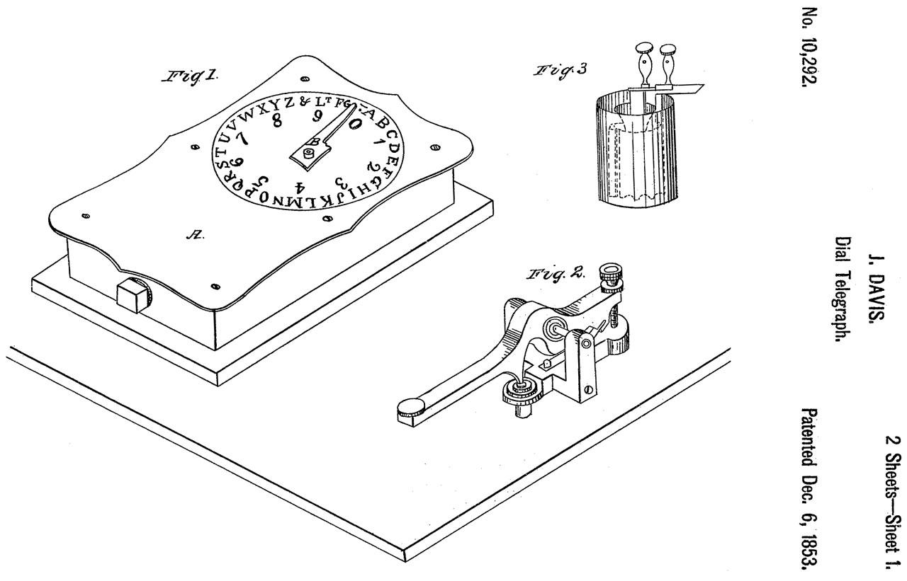 hight resolution of 10292 dial telegraph j davis
