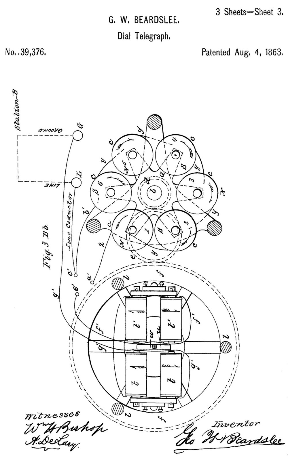 medium resolution of 39376 dial telegraph g w beardslee