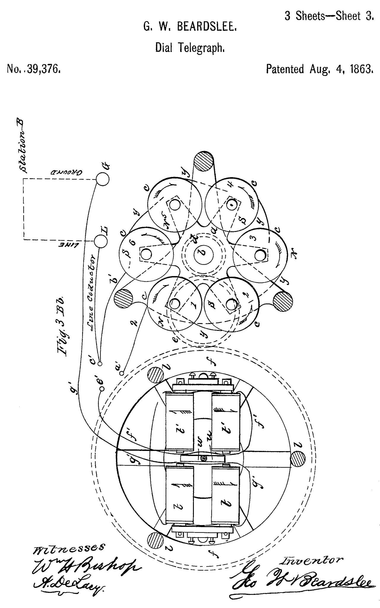 hight resolution of 39376 dial telegraph g w beardslee