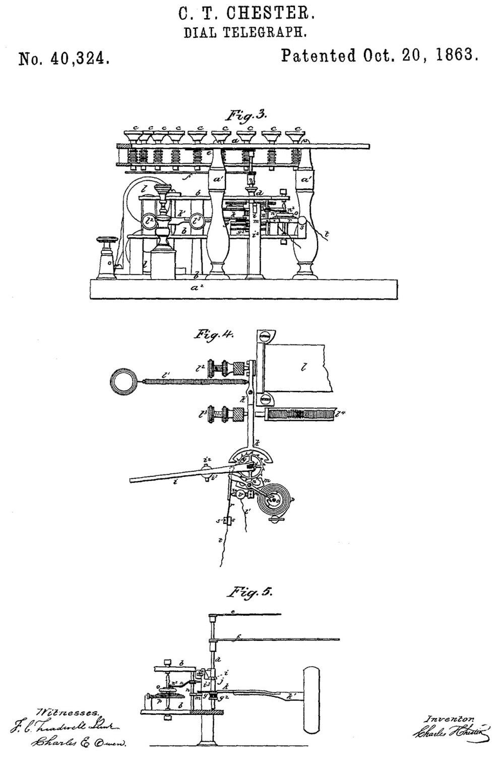 medium resolution of 40324 dial telegraph c t chester