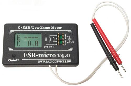 Esr Equivalent Series Resistance Meter Using 74hc14