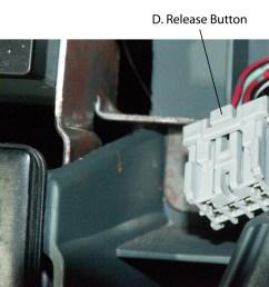 2000 honda oddyssey radio removing center dash panel connectors [ 1280 x 985 Pixel ]