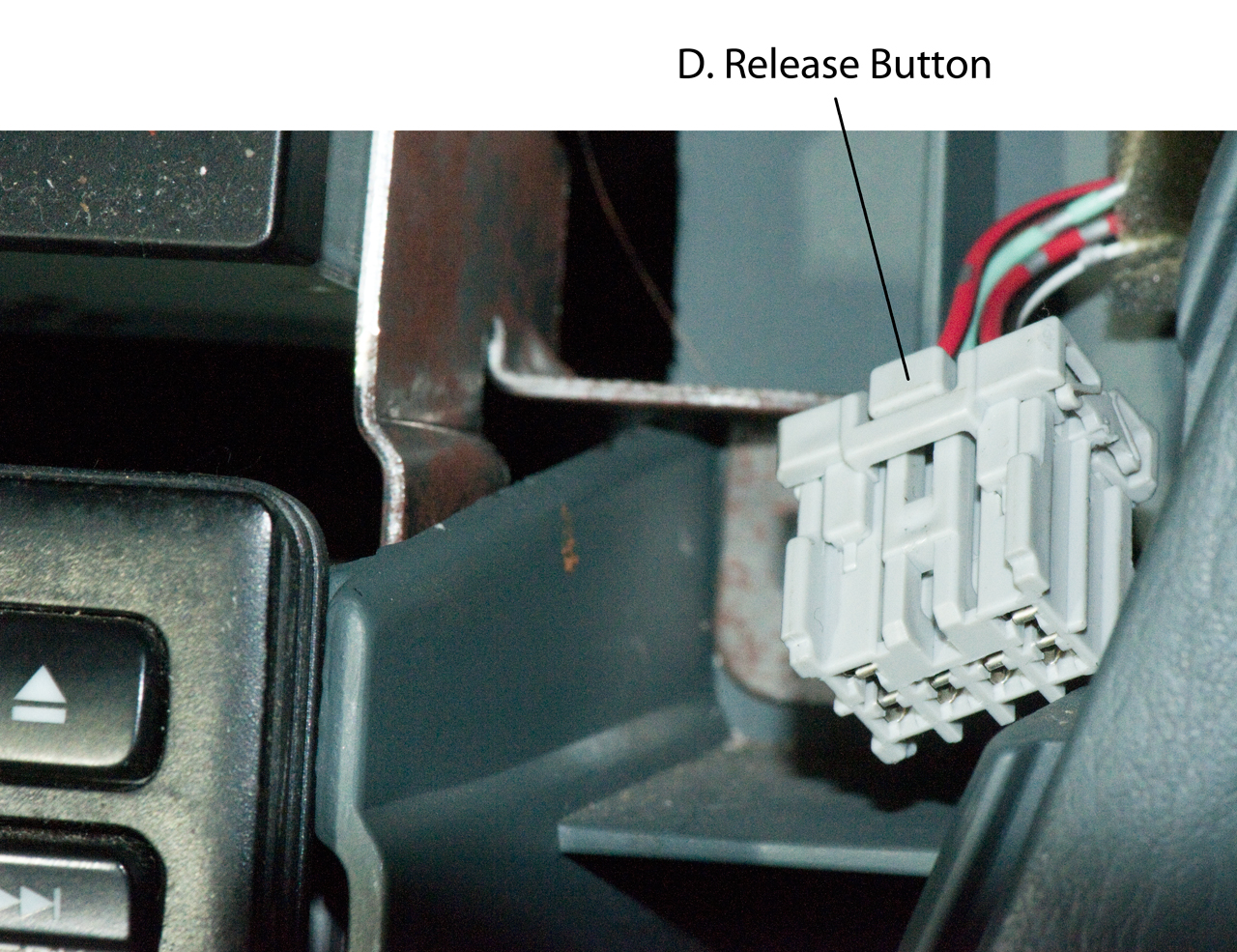 hight resolution of 2000 honda oddyssey radio removing center dash panel connectors