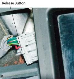 2000 honda oddyssey radio removing center dash panel connectors [ 1280 x 940 Pixel ]