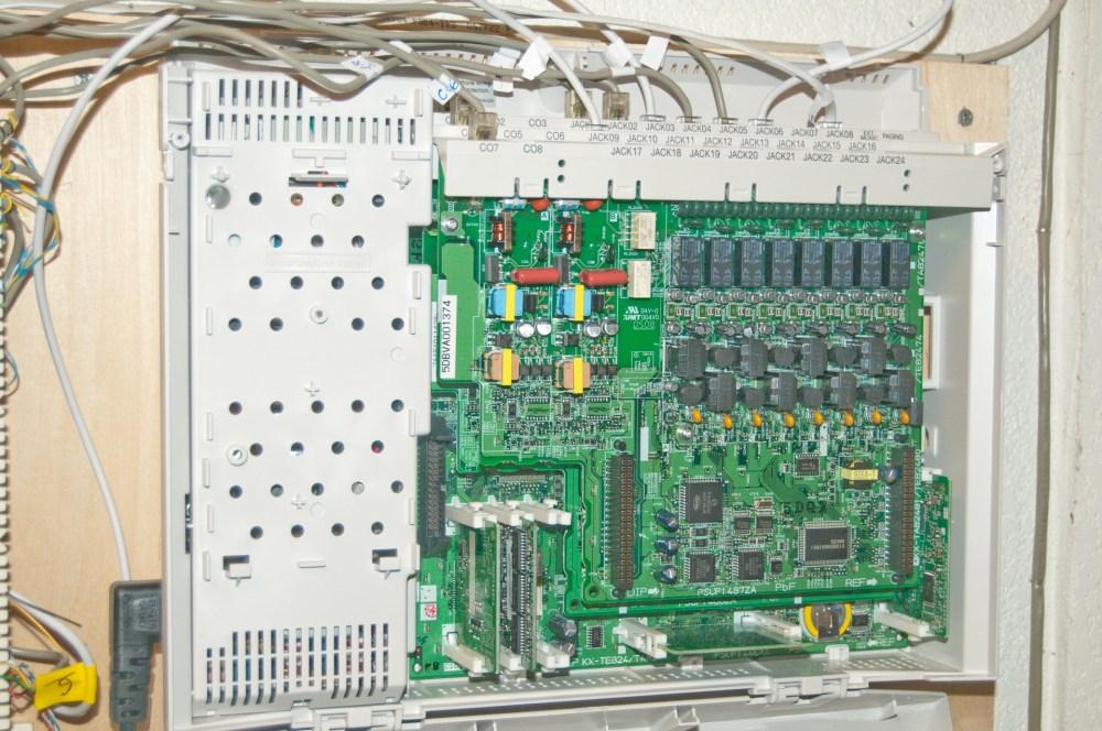 medium resolution of panasonic phone system wiring wiring diagram hub panasonic home theater panasonic kx ta824 telephone system panasonic