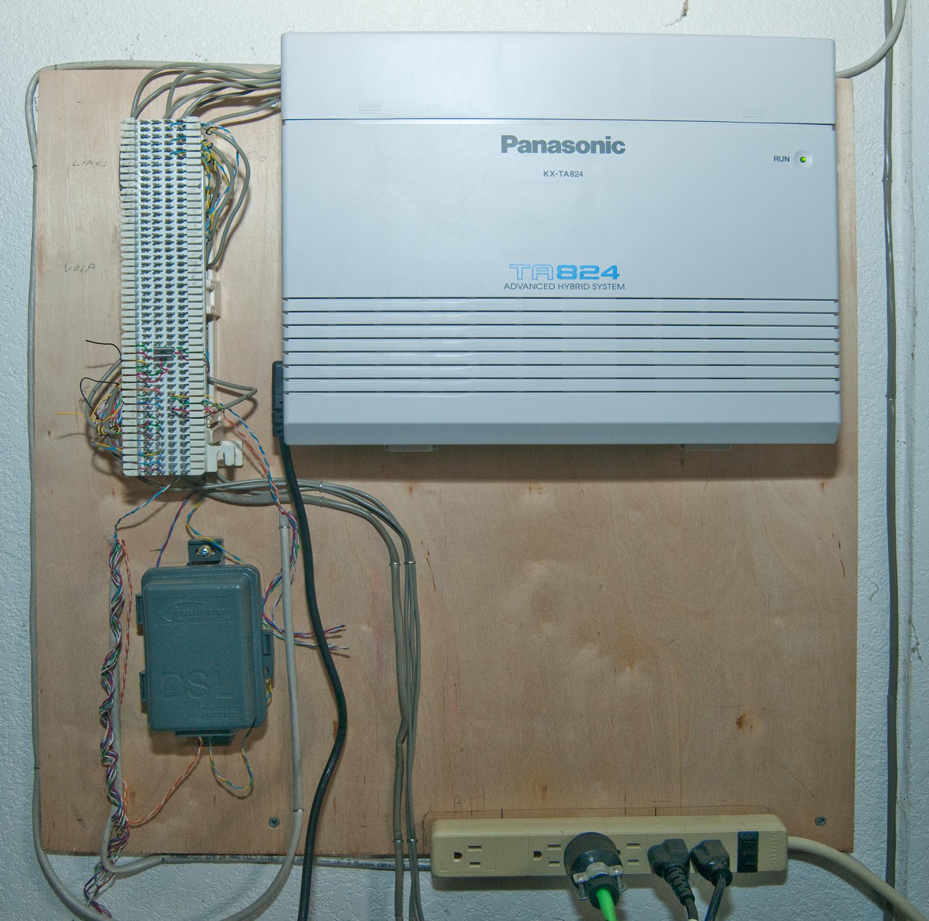 Cat5 Wall Schematic Wiring Diagram Panasonic Kx Ta824 Telephone System