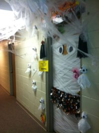 Halloween Dorm Door Decorating Contest | Pearl River ...