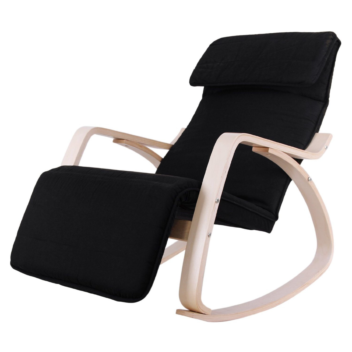 rocking chair footrest emco navy ikea recliner chairs with adjustable footstool prd furniture