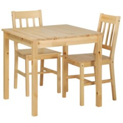 Ikea Wooden Chairs Wheelchair Belt Jonas Table And 2 Prd Furniture