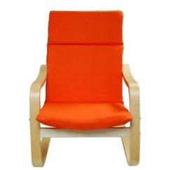Wooden Rocking Chair Cushion Set Eames Montreal Kid Without Pillow | Prd Furniture