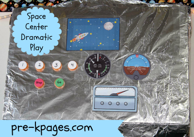 nasa mission control dramatic play ideas - photo #13