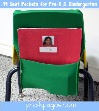 diy classroom chair covers animal skin chairs pockets for preschool and kindergarten seat via www pre kpages com