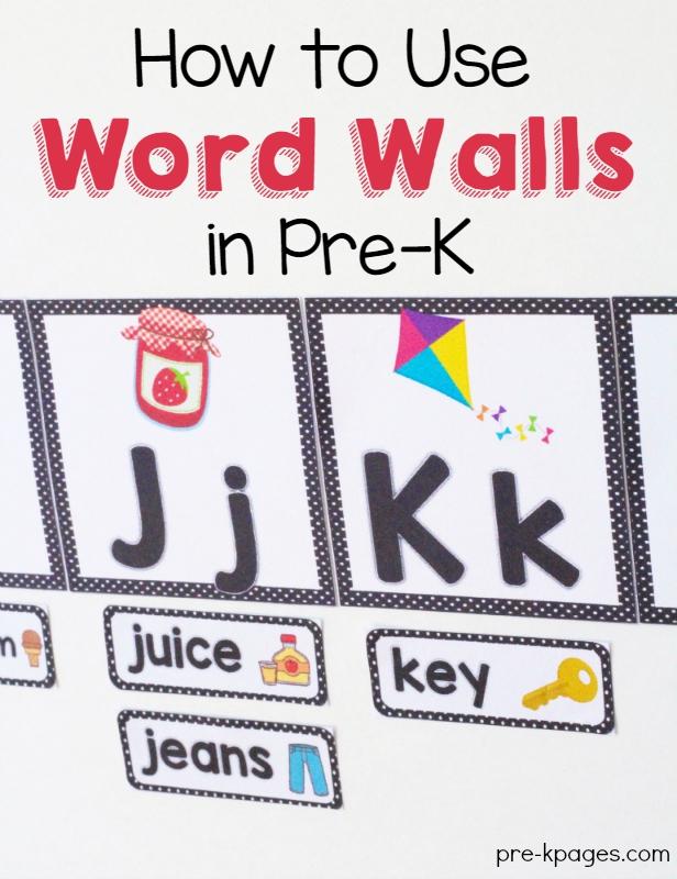 Word On Wall Decor Living Room: Pre-K-Word-Wall.jpg