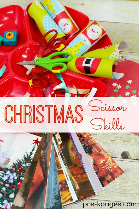Christmas Scissor Cutting Skills