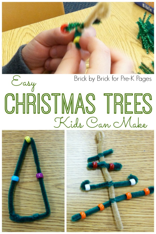 Easy Christmas Trees Ornaments - Pre- Pages