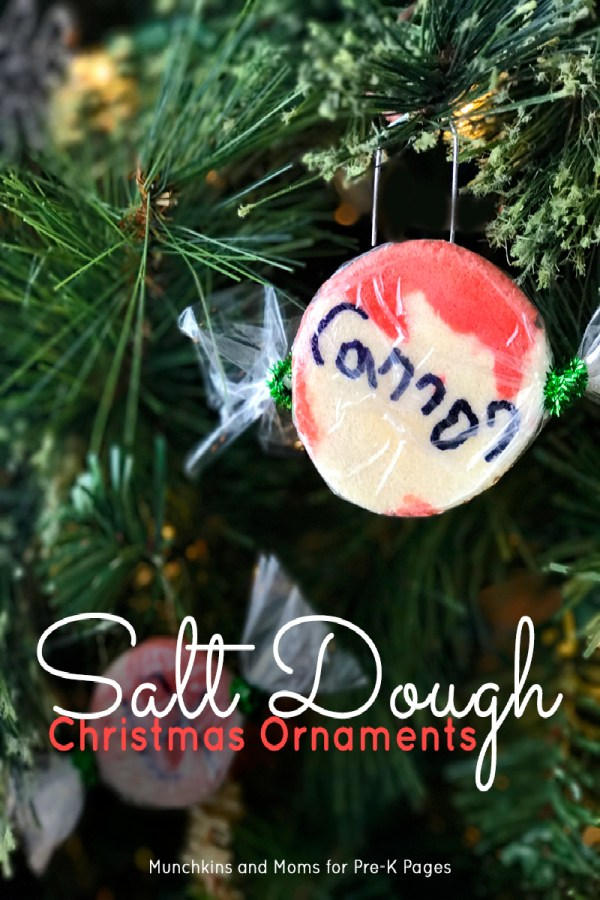 Salt Dough Christmas Ornaments - Pre- Pages